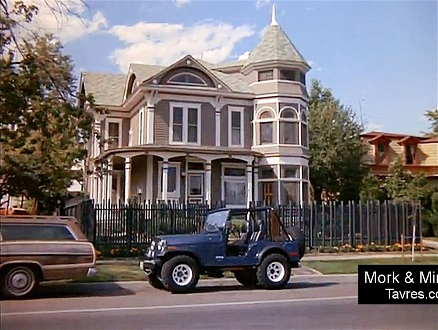Mork & Mindy's house