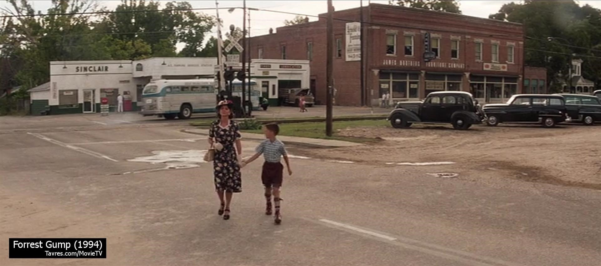 Forrest Gump (1994) - Main Street Greenbow 1955 | Movie & TV Locations